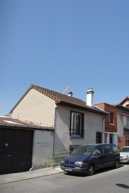 Surélévation maison